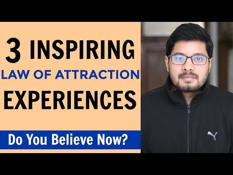 MANIFESTATION #97: THREE Inspiring Real-Life Experiences | How to Use Law of Attraction