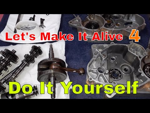 Complete Engine Assembly (2-Stroke) Part-1