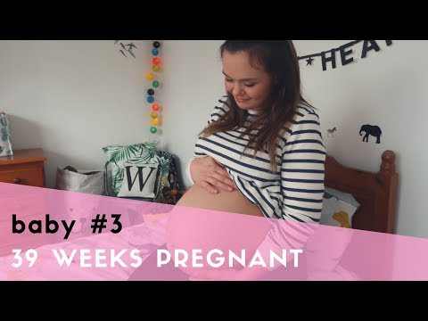 39 WEEKS PREGNANT - EARLY LABOUR SIGNS, BABY IS ENGAGED & INDUCTION BOOKED - PREGNANCY UPDATE
