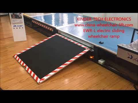 EWR-L Electric sliding wheelchair ramp
