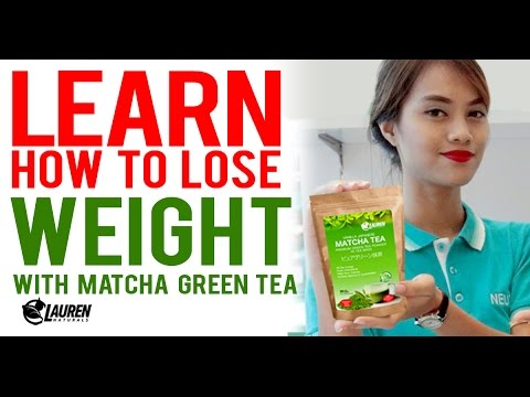 Learn How You Can Lose Weight with Matcha Green Tea Powder from Lauren Naturals