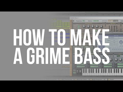 How to Make a Grime Bass in Ableton Live with Sylenth 1