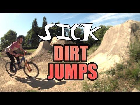 RIDING SICK DIRT JUMPS - BOGEY TRAILS