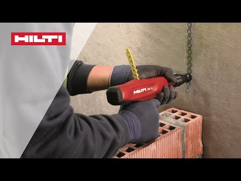 INTRODUCING the Hilti powder-actuated fastening tool DX2