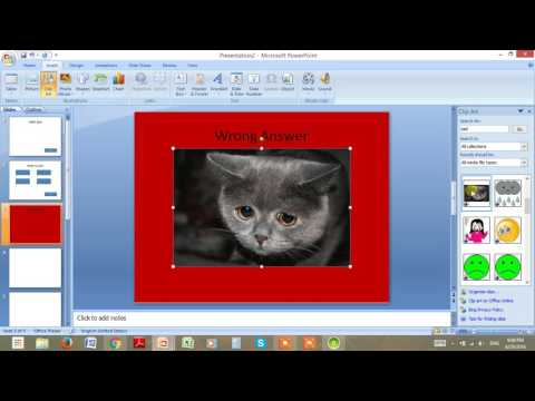 How to Make a PowerPoint Game Quiz Part 1