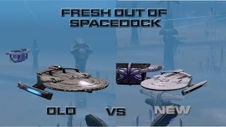 Miranda Class Starship New Skin - Old VS New!
