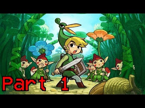 The Minish Cap | My First 2D Zelda Experience!