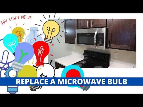 Whirlpool Microwave Bulb Replacment