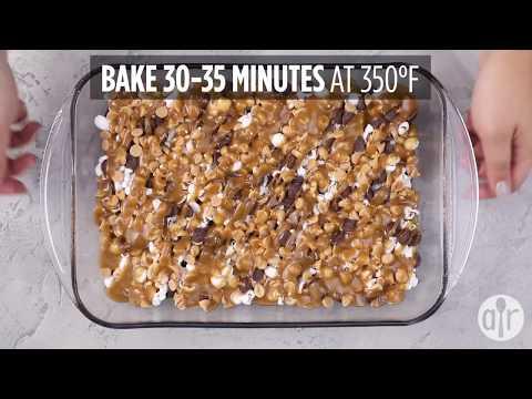 How to Make Caramel Popcorn Brownies | Dessert Recipes | Allrecipes.com