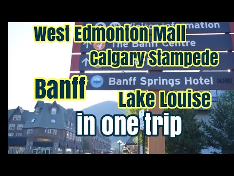 Affordable and Safest way to travel in Alberta Canada (Edmonton,Calgary, Banff and Louise Lake)