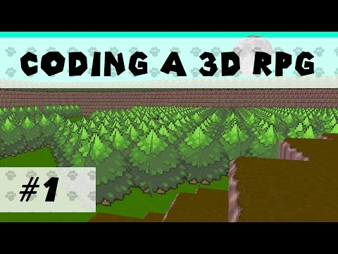 Making a 3D RPG (Game Maker) - Part 1 - This Time With Commentary