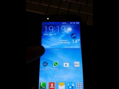 Galaxy S4 clock: How to install