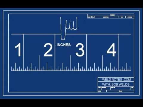 How to Read an Inch Ruler or Tape Measure