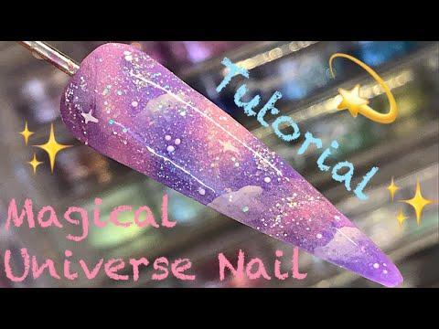 💫 Magical Universe Nail 💫 | Nail Sugar | Nail Art Tutorial