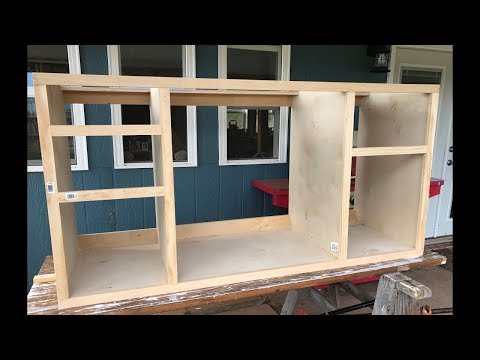 Making Kitchen Cabinets Part 2 -  Face Frame (fixed audio)