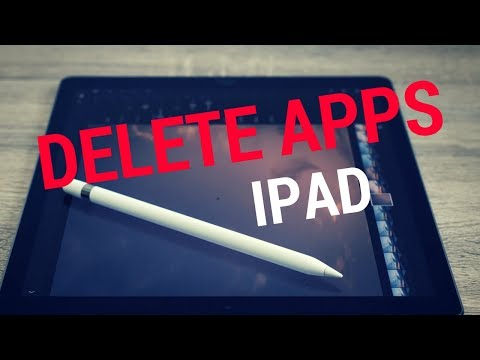 How to DELETE APPS on iPAD? (3 ways)