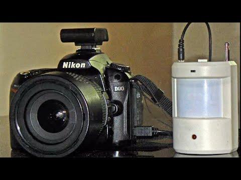 DIY Motion Triggered DSLR from PIR sensor doorbell alarm - MOTION ACTIVATED PHOTOBOOTH PICTORIAL