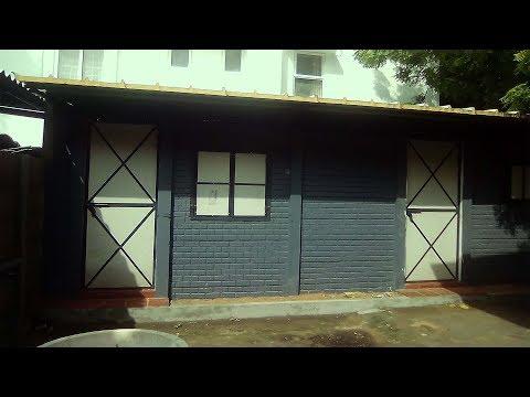 precast concrete house construction