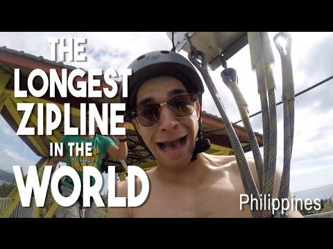 The Longest Island to Island Zipline in the World (Hidden spots of Philippines - Sablayan Mindoro)