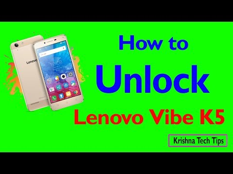 Lenovo Vibe K5 Hard Reset - How to Unlock - Forgot Password