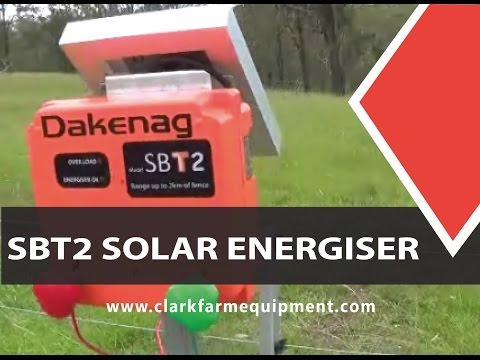 How to install and operate an Daken SBT2 Compact Solar Energiser