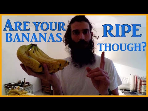 YOU'RE NOT EATING RIPE BANANAS: HERE'S HOW TO TELL!