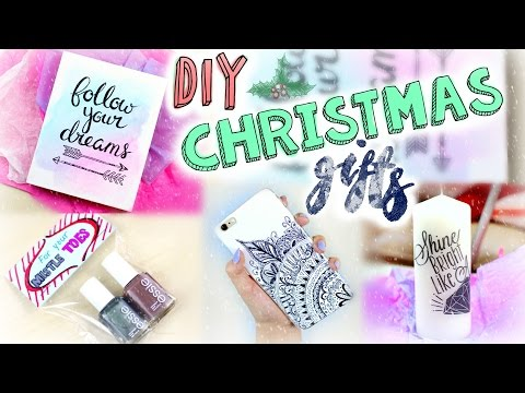 DIY Easy Christmas Gifts | Last Minute Presents for Friends, Boyfriends, Parents