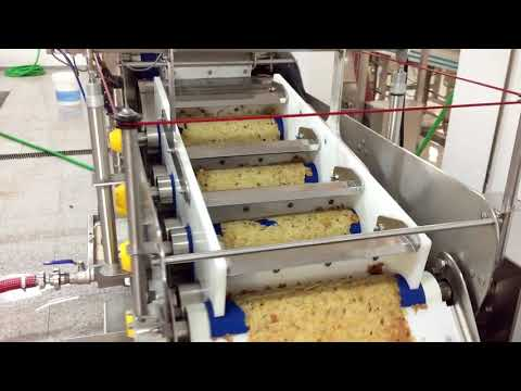 Sraml apple, pear and peach processing line in Portugal
