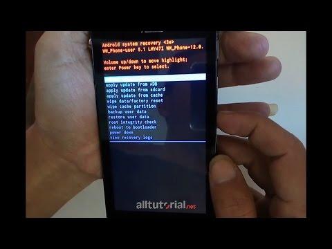 Cara Hard Reset ASUS Zenfone GO Z00SD
