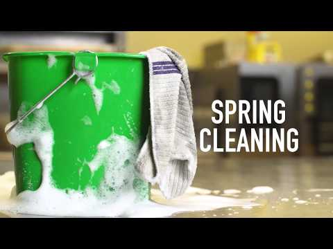 It's Spring: Time to Deep Clean the Kitchen