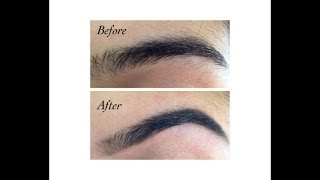 How To Shape And Tweeze Your Eyebrows Yourself