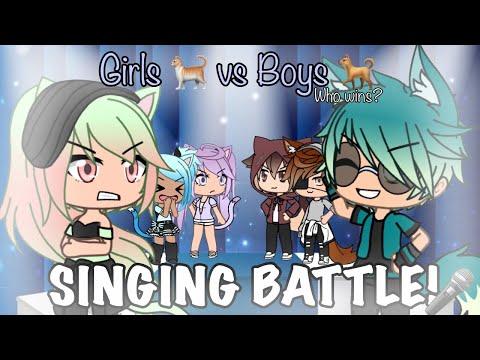 Xxx Mp4 GIRLS VS BOYS SINGING BATTLE 🎶🎤 CATS X DOGS GACHALIFE ✨ 3gp Sex