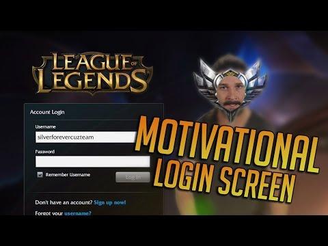Motivational login screen (+DL)