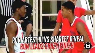 Ron Artest III vs Shareef O