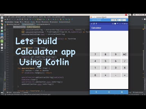 Creating a Calculator App using Kotlin part 1