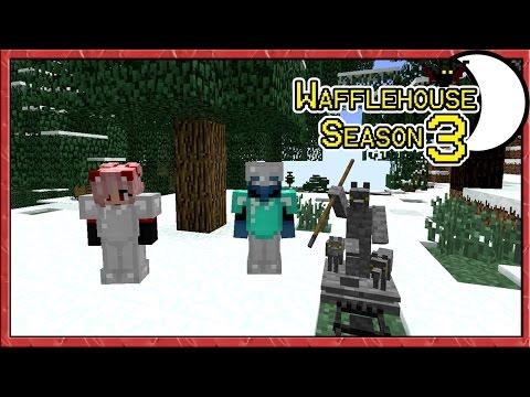 American Werewolves in Minecraft ~ WaffleHouse S3 #5 ~ Minecraft Witchery Mod