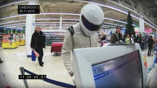 Spotted - The Stig in Tesco Extra