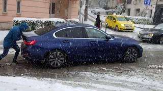 Amikor az időjárás megfegyelmezte a BMW-t