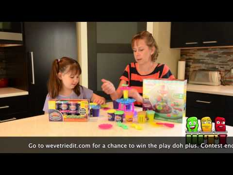 Play Doh Plus Review with Olivia