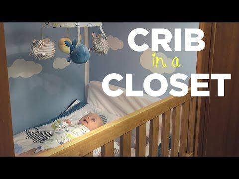DIY Dutch Cupboard Bed (aka Crib in a Closet)