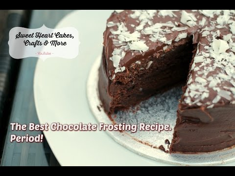 Chocolate Frosting Recipe - Part 2 - Soft and Delicious & only 4 ingredients