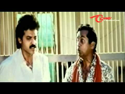 Condom comedy between Brahmi - Venkatesh