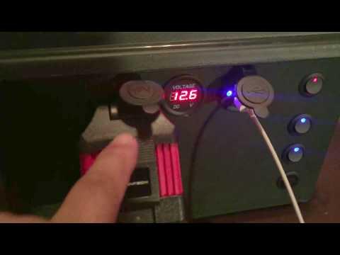 DIY 12v 7ah Portable Ammo Box Power Supply