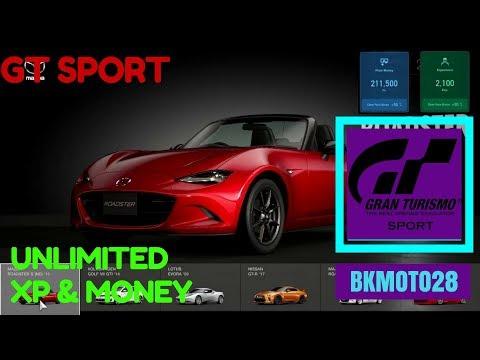 *EASY* V1.10 Gran Turismo Sport MONEY GLITCH (free Credits and XP)