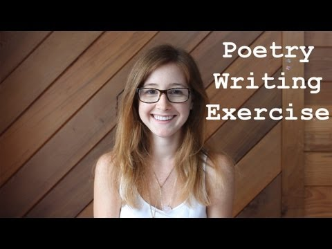 Writing | Poetry Writing Exercise & Workshop Review {with captions!}