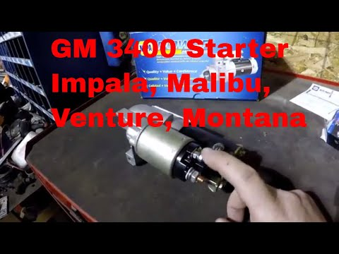 How to test and replace starter on chevy impala malibu monte carlo