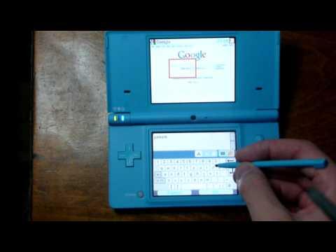 Nintendo DSi Internet Browser