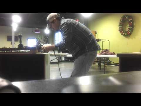 Your Handyman Recessed countertop hinges prt 1