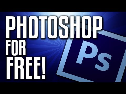 How to get PHOTOSHOP for FREE!?   MAC and WINDOWS   100% FREE!!!