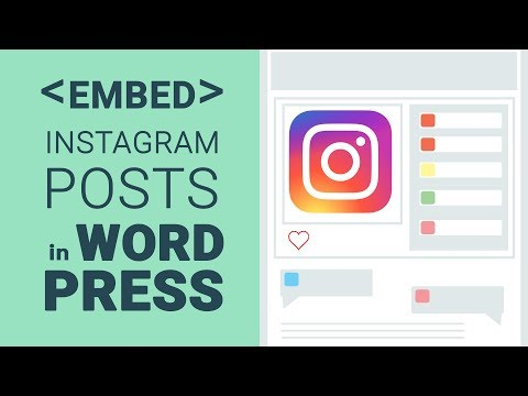 Embed Instagram Posts in WordPress